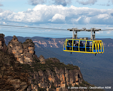The Greater Blue Mountains Area ( The Blue Mountains ) ブルーマウンテンズ